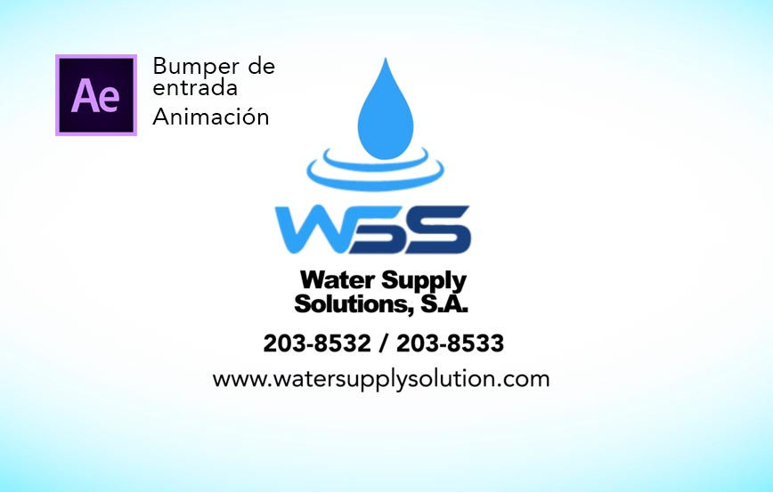 water supply solutions - bumper animado