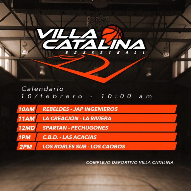 villa catalina basketball