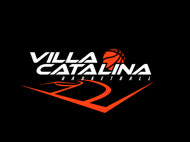 villa catalina basketball logo dark